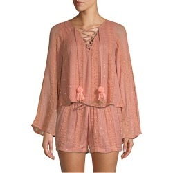 Anais Peasant Top found on MODAPINS from Saks Fifth Avenue for USD $56.00