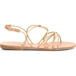 Ancient Greek Sandals Women's Pasifai Flat Slingback Sandals - Natural - Size 8 found on MODAPINS from Saks Fifth Avenue for USD $120.00