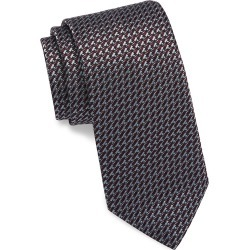 Brioni Men's Woven Links Silk Tie - Grey found on MODAPINS from Saks Fifth Avenue for USD $260.00
