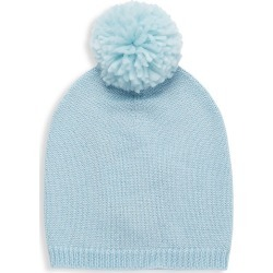 Jocelyn Kid's Cashmere-Blend Pom-Pom Hat - Blue found on MODAPINS from Saks Fifth Avenue for USD $35.00