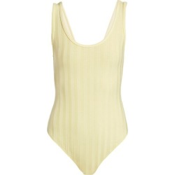 Irene Compact Ribbed Bodysuit found on MODAPINS from Saks Fifth Avenue AU for USD $132.14