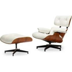 East Lounge Two-Piece Chair & Ottoman Set
