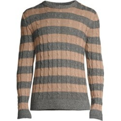 Striped Cable Knit Sweater found on Bargain Bro UK from Saks Fifth Avenue UK