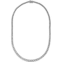 Boucles d'oreilles en argent sterling avec diamants 0,31 ct PT Collier à rangs de diamants PT