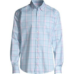 Peter Millar Men's Vance Multi Check Shirt - Cottage Blue - Size Medium found on Bargain Bro from Saks Fifth Avenue for USD $112.48