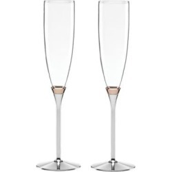 Rosy Glow Toasting Flute Pair found on Bargain Bro Philippines from The Bay for $77.00