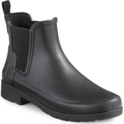 Refined Dark Sole Chelsea Boots