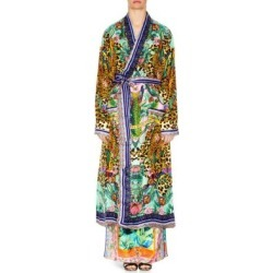 Long Silk Robe found on MODAPINS from Saks Fifth Avenue for USD $400.00