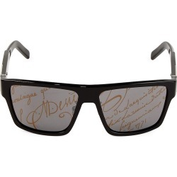 Berluti Men's 62MM Fashion Mask Square Sunglasses - Black found on MODAPINS from Saks Fifth Avenue for USD $510.00