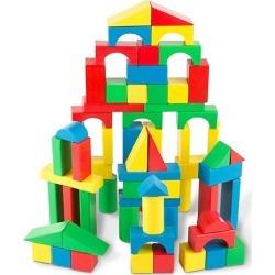 100 Wood Blocks Set