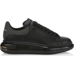 Alexander McQueen Men's Platform Leather Sneakers - Black Lead - Size 12.5 found on MODAPINS from Saks Fifth Avenue for USD $590.00