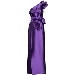Alberta Ferretti Women's Mikado Asymmetrical Gown - Violet - Size 44 (8) found on MODAPINS from Saks Fifth Avenue for USD $1750.00
