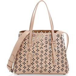 Alaïa Women's Small Mina Perforated Leather Tote - Nude found on Bargain Bro Philippines from Saks Fifth Avenue for $2920.00