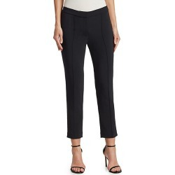 Adam Lippes Women's Cropped Pintuck Pants - Black - Size 4 found on MODAPINS from Saks Fifth Avenue for USD $310.50