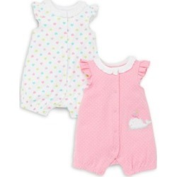 Baby Girl's 2-Piack Printed Cotton Rompers found on Bargain Bro India from The Bay for $23.79