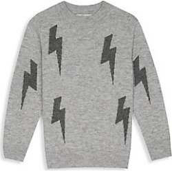 Rails Girl's Gemma Lightning Bolt Cashmere & Wool Sweater - Heather Grey - Size 6-7 found on Bargain Bro India from Saks Fifth Avenue for $54.60