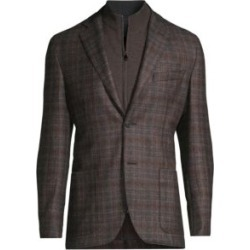 Plaid Wool Sportcoat found on Bargain Bro India from Saks Fifth Avenue AU for $1774.23