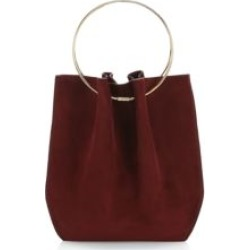 Micro Flat Circle Suede Bucket Bag found on Bargain Bro Philippines from Saks Fifth Avenue AU for $1043.91