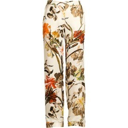 Off-White Women's Floral Pajama Pants - Off White - Size 38 (2) found on MODAPINS from Saks Fifth Avenue for USD $544.00