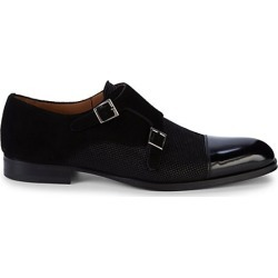 Leather & Suede Monk-Strap Shoes found on Bargain Bro Philippines from Saks Fifth Avenue OFF 5TH for $199.99