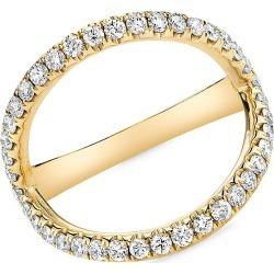 Anita Ko Women's 18K Yellow Gold & Diamond Arc Ring - Gold - Size 6.5 found on Bargain Bro from Saks Fifth Avenue for USD $3,078.00