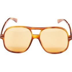 Gucci Men's 58MM Round Sunglasses - Havana found on Bargain Bro India from Saks Fifth Avenue for $565.00