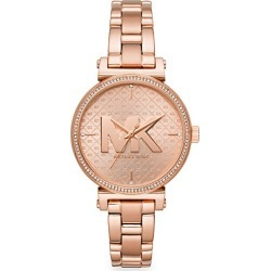 Michael Kors Women's Sofie Three-Hand Rose Goldtone Stainless Steel Watch - Rose Gold found on MODAPINS from Saks Fifth Avenue for USD $250.00