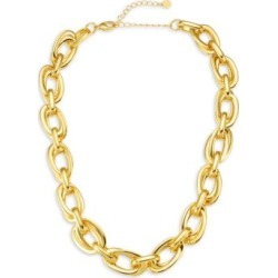 In Chains 14K Yellow Goldplated Necklace found on Bargain Bro India from Saks Fifth Avenue AU for $74.15