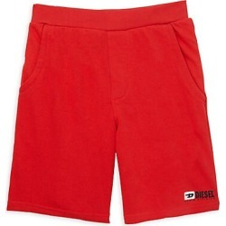 Diesel Boy's Fleece Logo Shorts - Red - Size Large (14) found on MODAPINS from Saks Fifth Avenue for USD $48.00