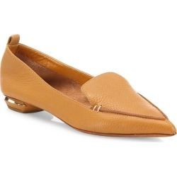 Nicholas Kirkwood Women's Beya Leather Loafers - Tan - Size 4 found on MODAPINS from Saks Fifth Avenue for USD $495.00
