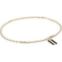 14K Yellow Gold & Pavé Diamond Rectangle Pendant Bracelet found on Bargain Bro UK from Saks Fifth Avenue UK