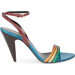 Liya Colorblock Snakeskin Sandals found on MODAPINS from Saks Fifth Avenue AU for USD $1057.42