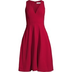 Dress The Population Women's Catalina Fit & Flare Dress - Garnet - Size Small found on MODAPINS from Saks Fifth Avenue for USD $182.00