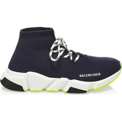 Balenciaga Women's Speed Lace-Up Sneakers - Navy - Size 35 (5) found on MODAPINS from Saks Fifth Avenue for USD $770.00