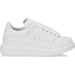Alexander McQueen Women's Women's Leather Platform Sneakers - White - Size 36 (6) found on MODAPINS from Saks Fifth Avenue for USD $540.00