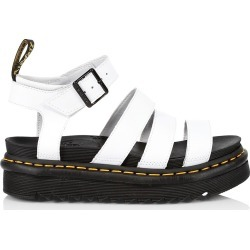 Dr. Martens Women's Blaire Leather Platform Sandals - White - Size 11 found on MODAPINS from Saks Fifth Avenue for USD $100.00