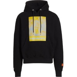 Heron Preston Men's Herons Graphic Hoodie - Black Yellow - Size Small found on MODAPINS from Saks Fifth Avenue for USD $525.00