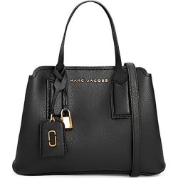 Marc Jacobs Women's The Editor Leather Satchel - Black