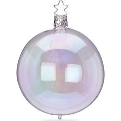 Inge's Christmas Decor Iridescent Glass Ball Ornament found on Bargain Bro India from Saks Fifth Avenue for $10.00
