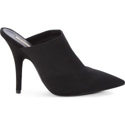 Yeezy Women's Point-Toe Heeled Mules - Black - Size 35 (5) found on MODAPINS from Saks Fifth Avenue OFF 5TH for USD $144.99