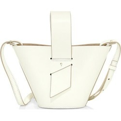 Carolina Santo Domingo Women's Mini Amphora Leather Bucket Bag - Off White found on MODAPINS from Saks Fifth Avenue for USD $765.00