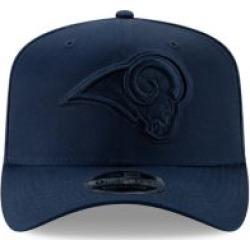 Casquette de baseball extensible avec logo ton sur ton de l'équipe des Rams de Los Angeles de las NFL