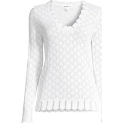 Pointelle Knit Sweater found on Bargain Bro Philippines from Saks Fifth Avenue AU for $205.62
