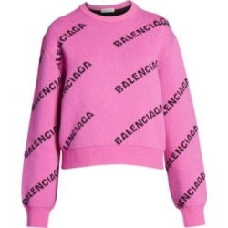 Crop Logo Sweater found on Bargain Bro India from Saks Fifth Avenue AU for $1018.68