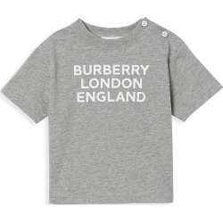 Burberry Baby's & Little Kid's BLE Logo T-Shirt - Grey Melange - Size 6 Months found on Bargain Bro India from Saks Fifth Avenue for $110.00
