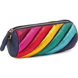 Rainbow Marshmallow Leather Clutch