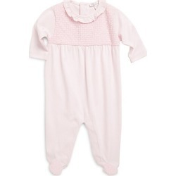 Baby Girl's Tranquility Knitted Pima Cotton Footie found on Bargain Bro India from Saks Fifth Avenue for $62.00