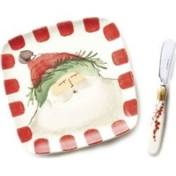 Two-Piece Old St. Nick Plate & Spreader Set found on Bargain Bro India from Saks Fifth Avenue Canada for $82.06