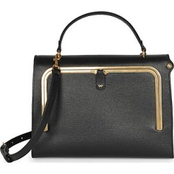 Anya Hindmarch Women's Postbox Leather Satchel - Black found on MODAPINS from Saks Fifth Avenue for USD $1550.00