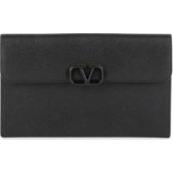 Valentino Garavani Large VSling Leather Pouch found on Bargain Bro from Saks Fifth Avenue UK for £796